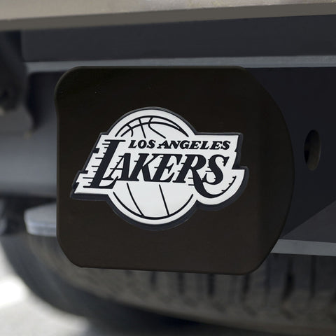 Los Angeles Lakers Chrome Hitch Cover - Black 3.4