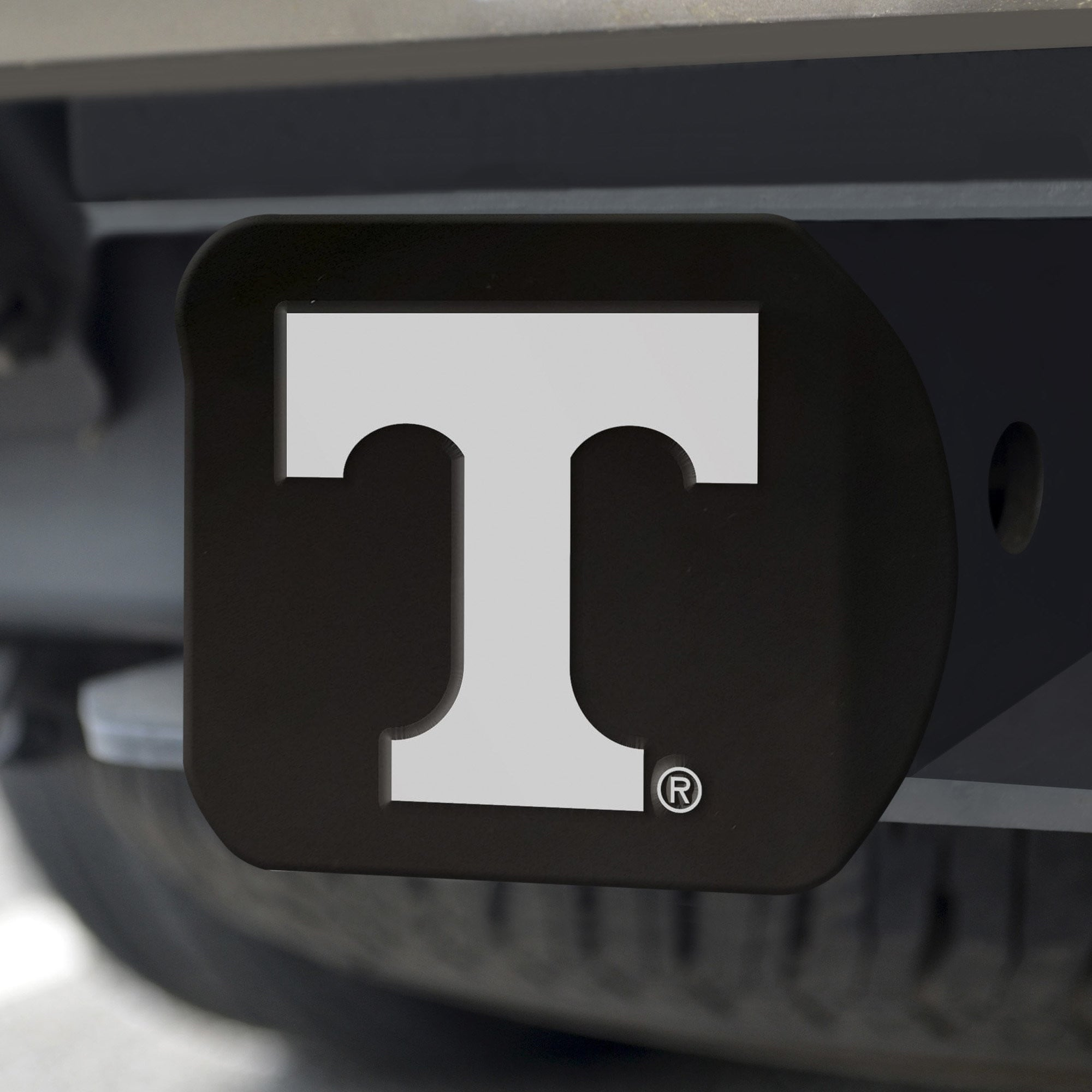 Tennessee Volunteers Chrome Hitch Cover - Black 3.4