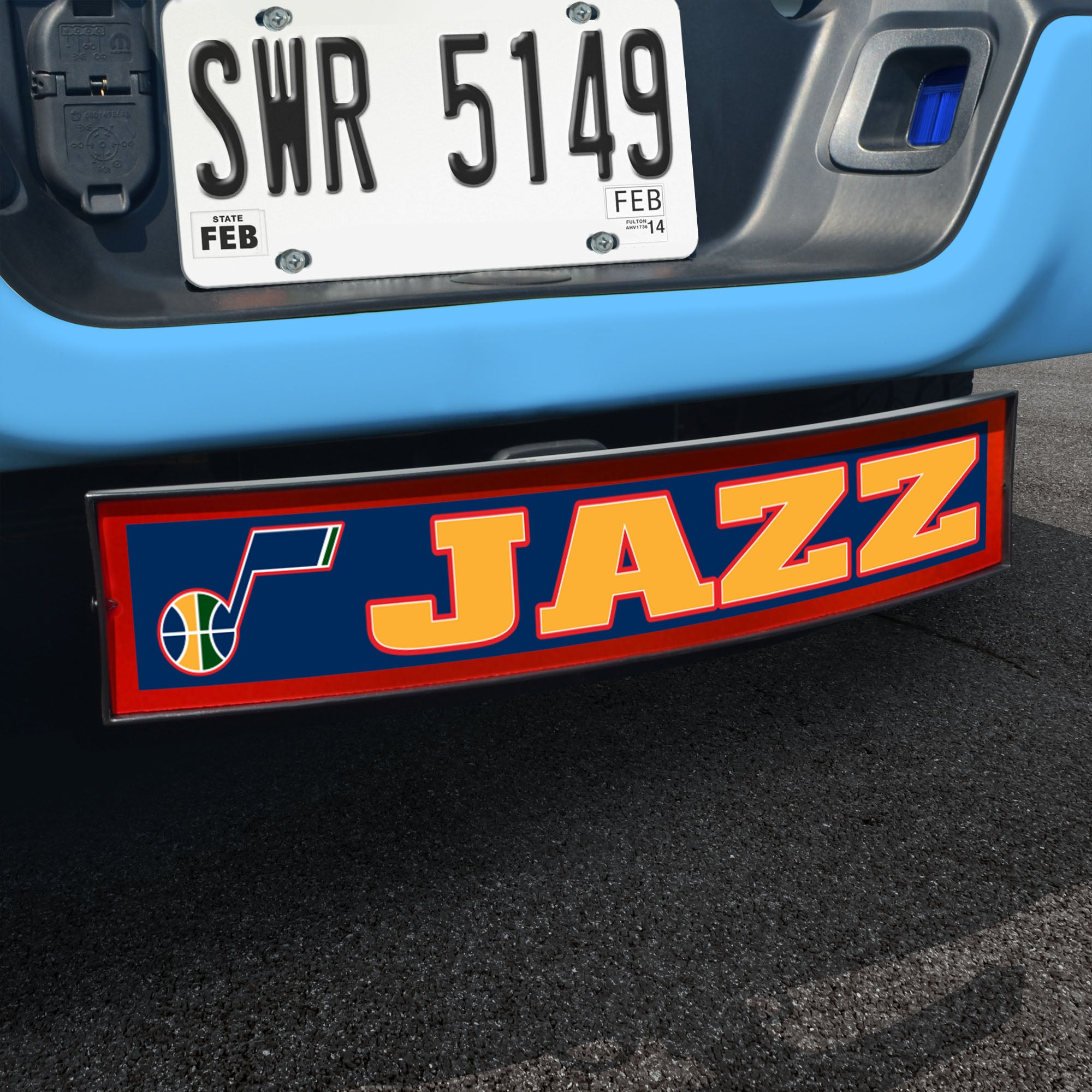 Utah Jazz Light Up Hitch Cover 21