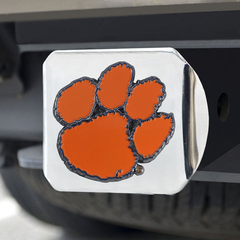 Clemson Tigers Color Hitch Cover 3.4