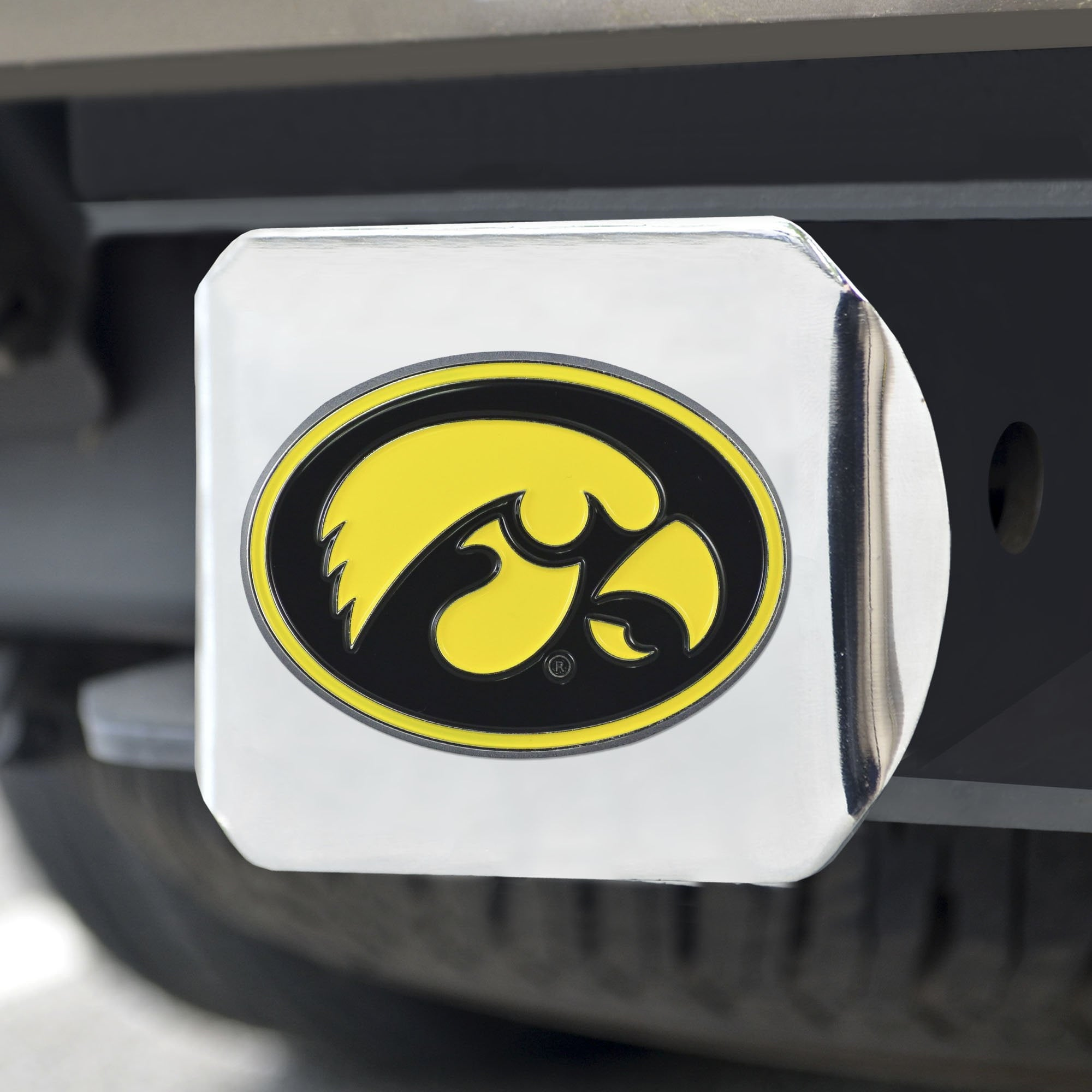 Iowa Hawkeyes Color Hitch Cover 3.4
