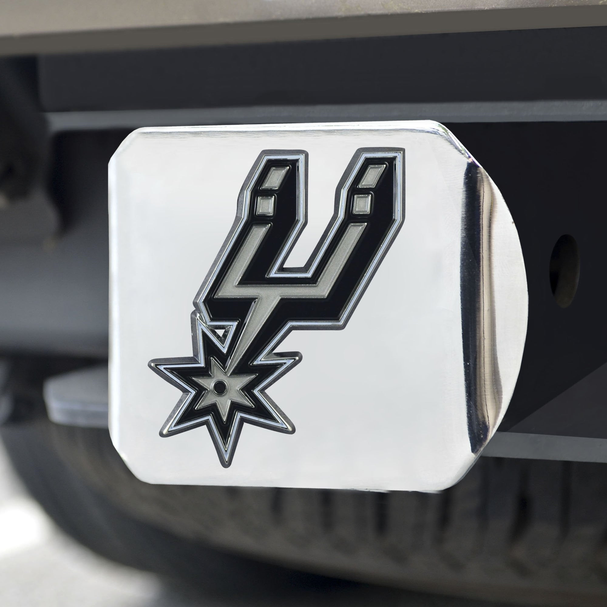 San Antonio Spurs Color Hitch Cover 3.4