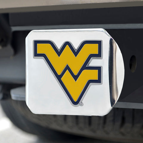 West Virginia Moutaineers Color Hitch Cover 3.4