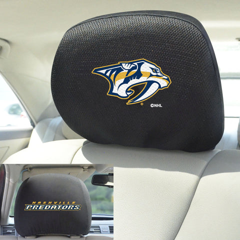 NHL - Nashville Predators Set of Set of 2 Headrest Covers