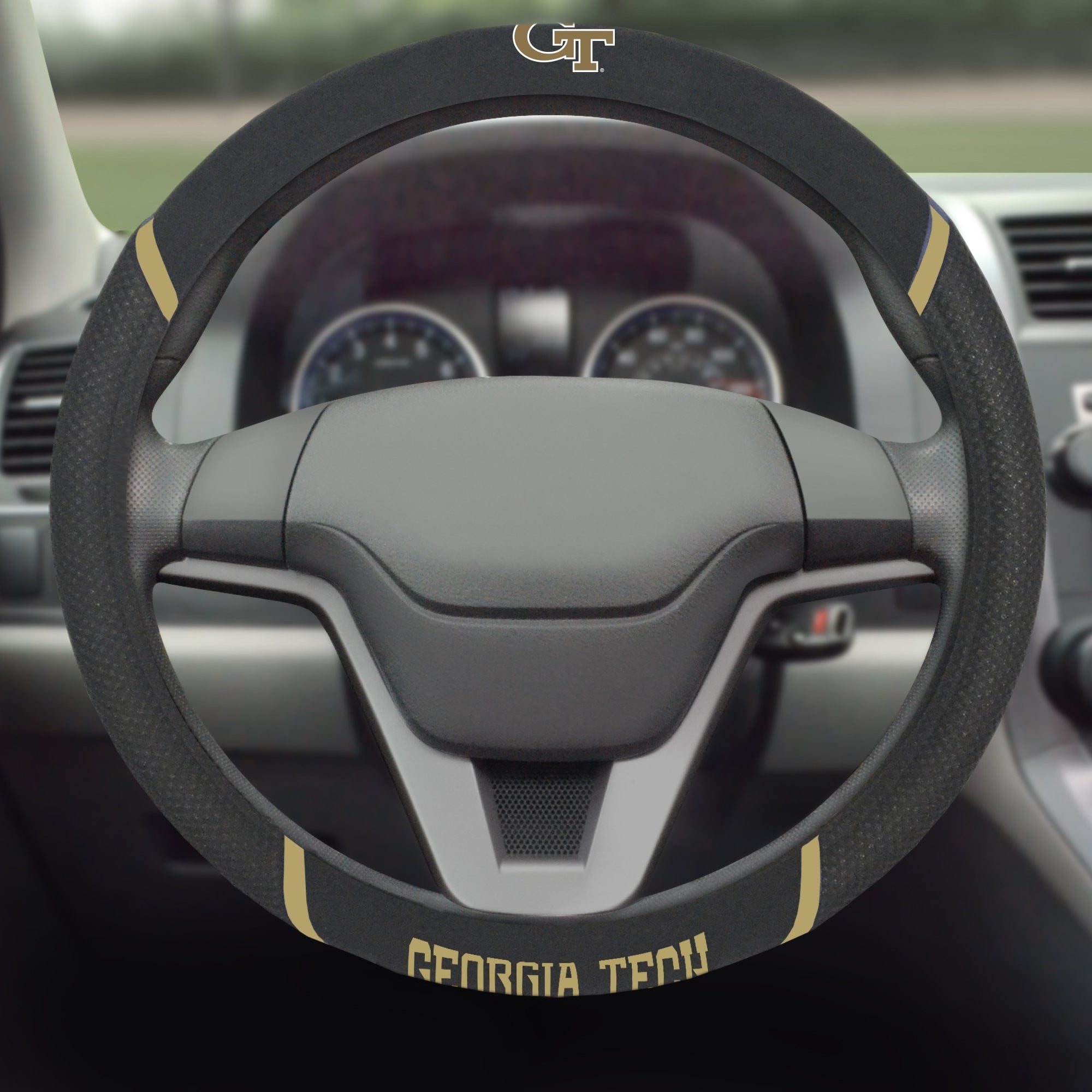 Georgia Tech Yellow Jackets Steering Wheel Cover 15
