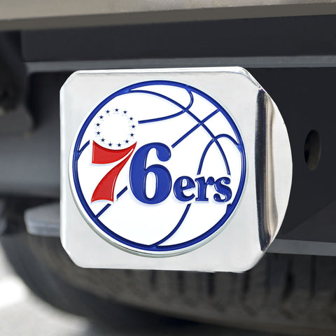 Philadelphia 76ers Color Hitch Cover 3.4