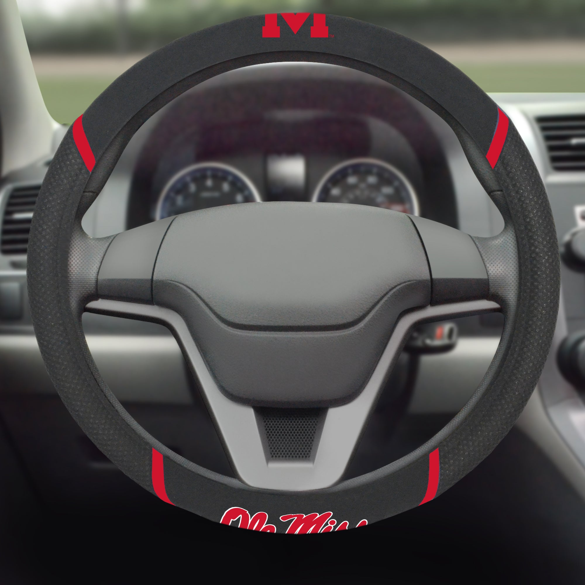 University of Mississippi (Ole Miss) Steering Wheel Cover 15