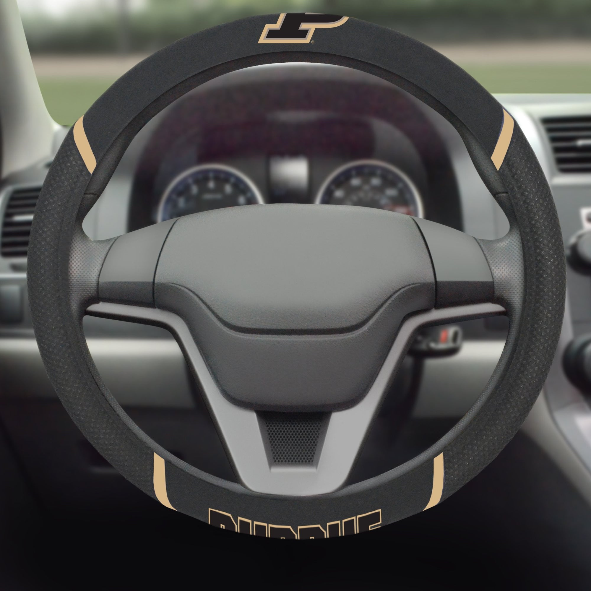 Purdue University Steering Wheel Cover 15
