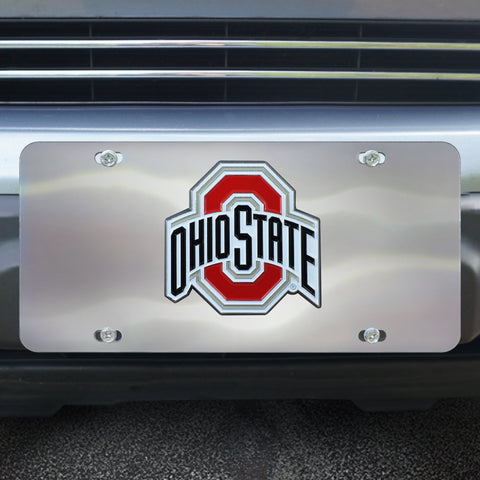 Ohio State University Diecast License Plate 12