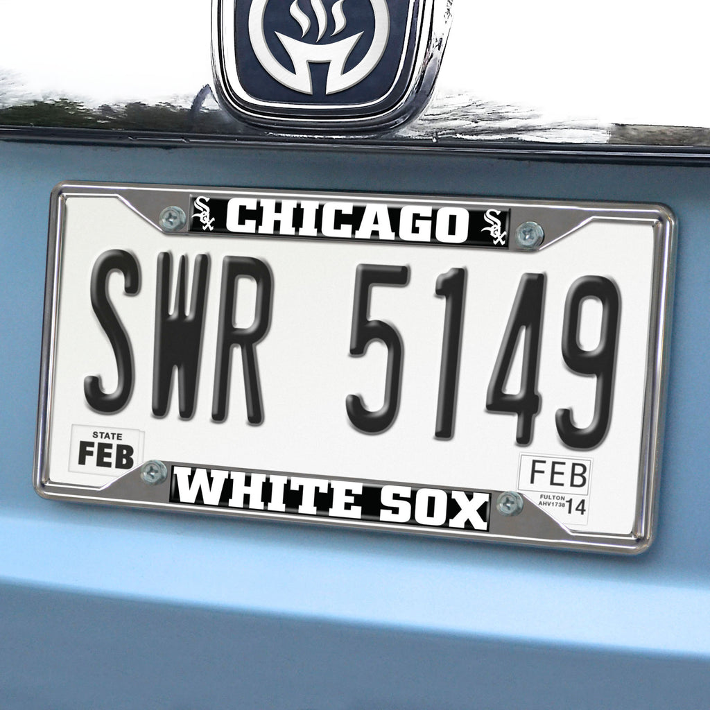 MLB - Chicago White Sox License Plate Frame - Team Auto Mats