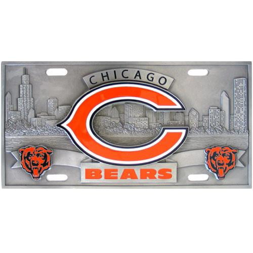 Chicago Bears Collector's License Plate