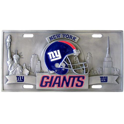 New York Giants Collector's License Plate