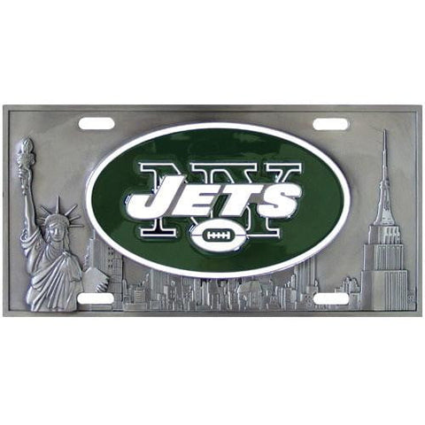 New York Jets Collector's License Plate