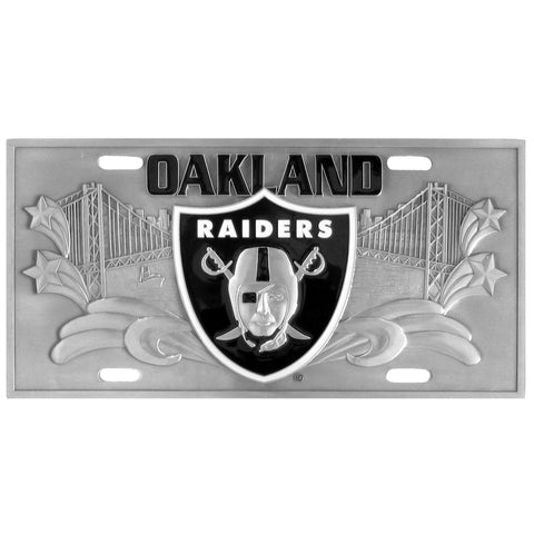 Las Vegas Raiders Collector's License Plate