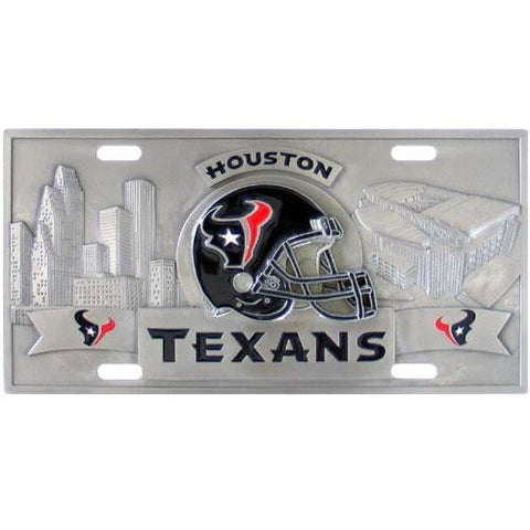 Houston Texans Collector's License Plate