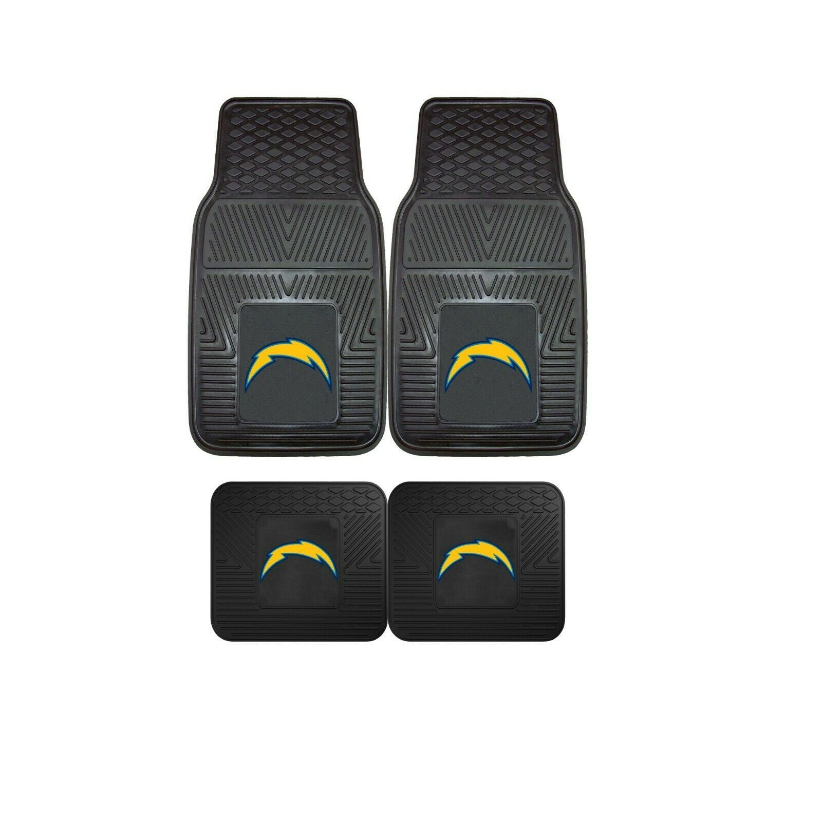 Los Angeles Chargers NFL 4pc  Car Mats