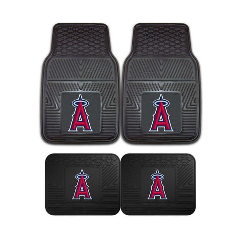 Los Angeles Angels MLB 4pc Car Mats