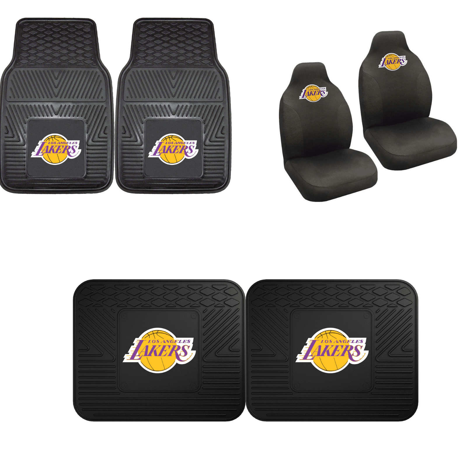 Los Angeles Lakers Car Accessories, Car Mats & Seat Covers