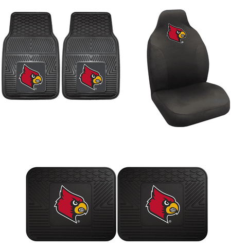 Louisville Cardinals Car Accessories, Car Mats & Seat Covers