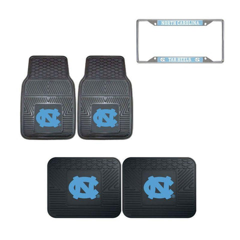 North Carolina Tar Heels Car Accessories, Car Mats & License Plate Frame