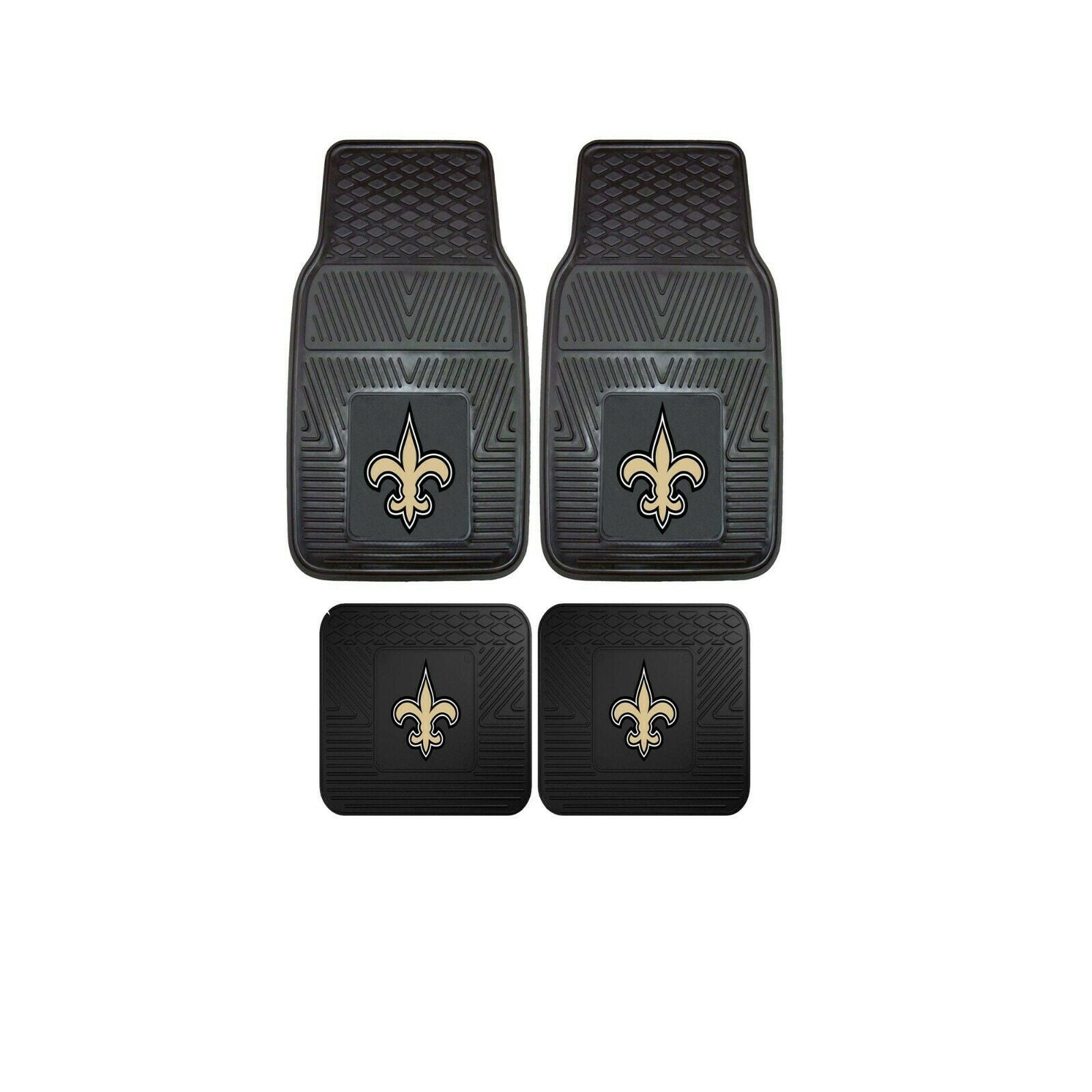 New Orleans Saints NFL 4pc Car Mats