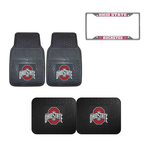 Ohio State Buckeyes Car Accessories, Car Mats & License Plate Frame