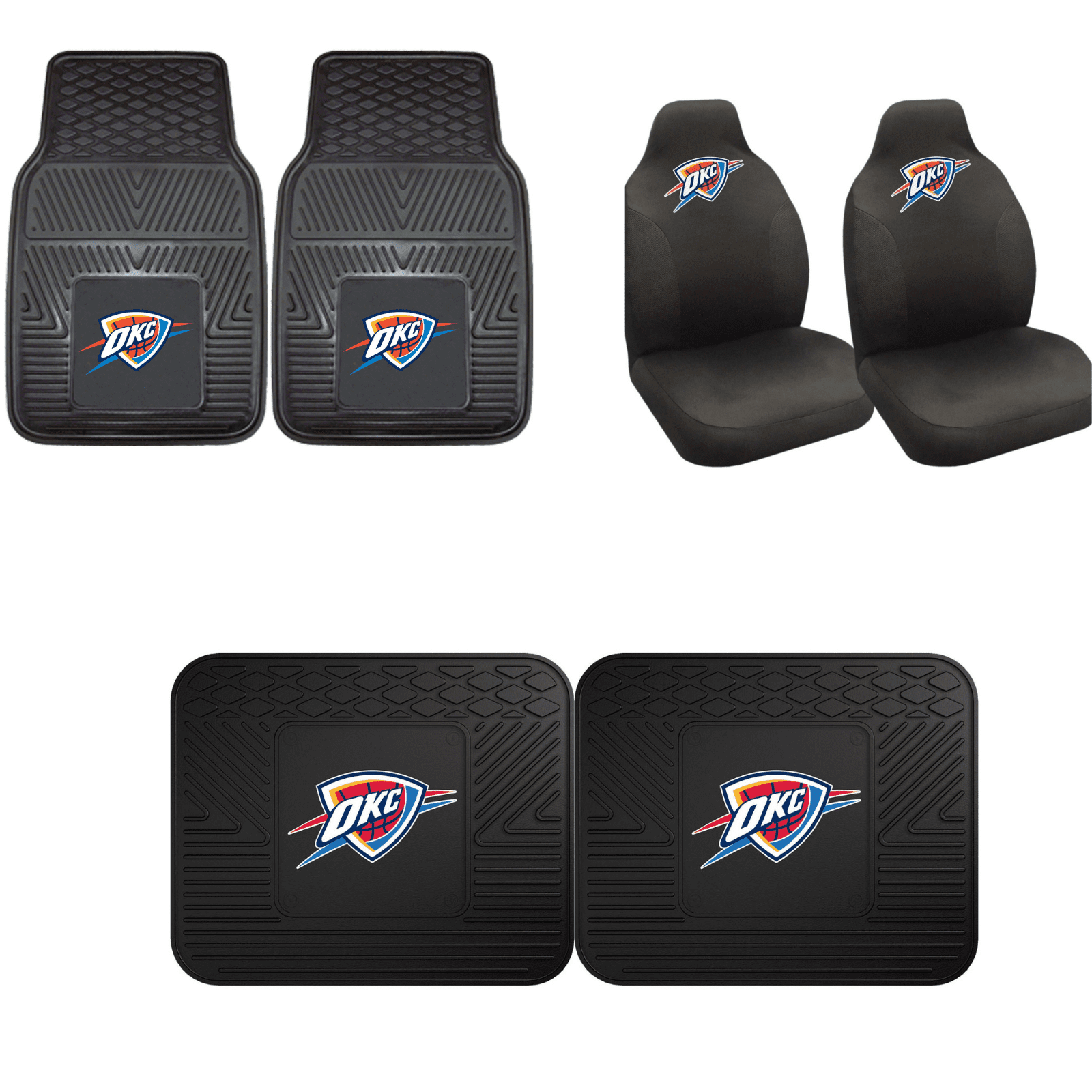 Oklahoma City Thunder Car Accessories, Car Mats & Seat Covers