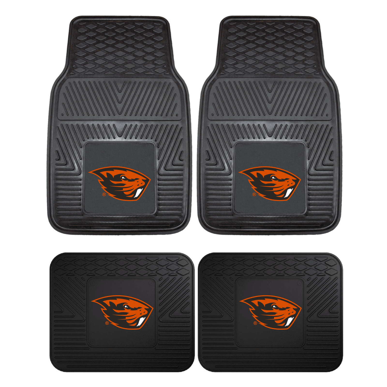 Oregon State Beavers NCAA 4pc  Car Mats