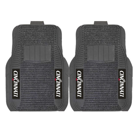 Cincinnati Bearcats Front (Vinyl/Carpet) & Rear (Vinyl) Car Floor Mats