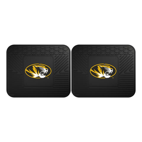 Missouri Tigers Front (Vinyl/Carpet) & Rear (Vinyl) Car Floor Mats