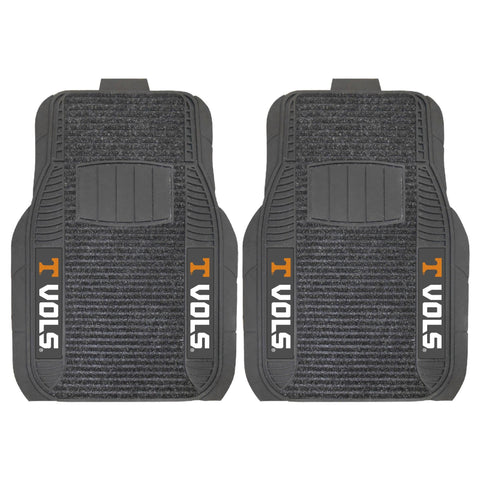 Tennessee Volunteers Front (Vinyl/Carpet)& Rear (Vinyl) Car Floor Mats