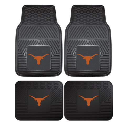 Texas Longhorns College Football NCAA 4pc Car Floor Mats