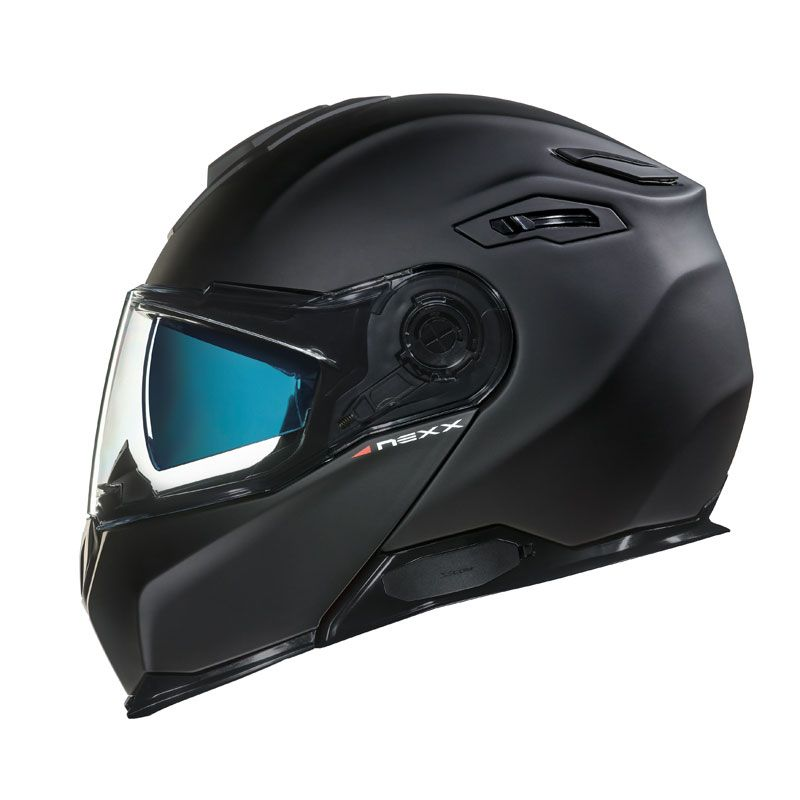 CASCO NEXX X.VILITUR PLAIN BLACK MATT