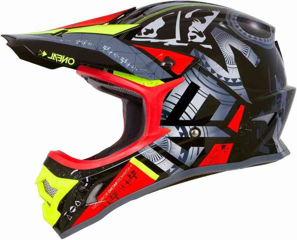 CASCO O'NEAL 3 SERIES HELIUM RED