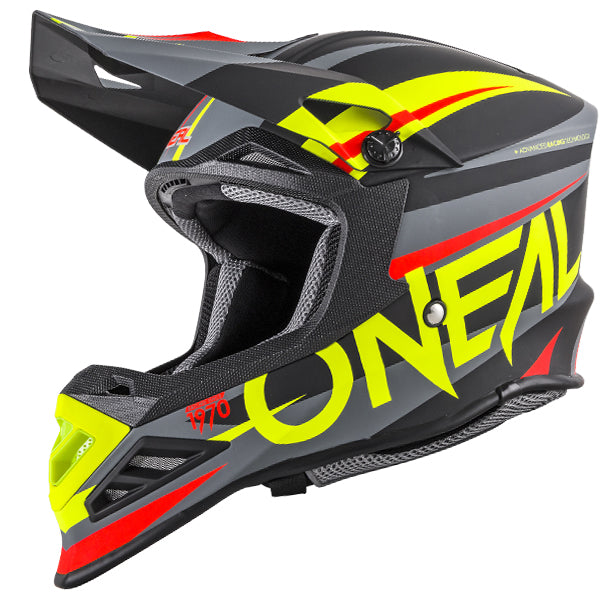 CASCO O'NEAL 8 SERIES AGGRESSOR GoPro MOUNT INCLUIDO BLACK/HI VIZ