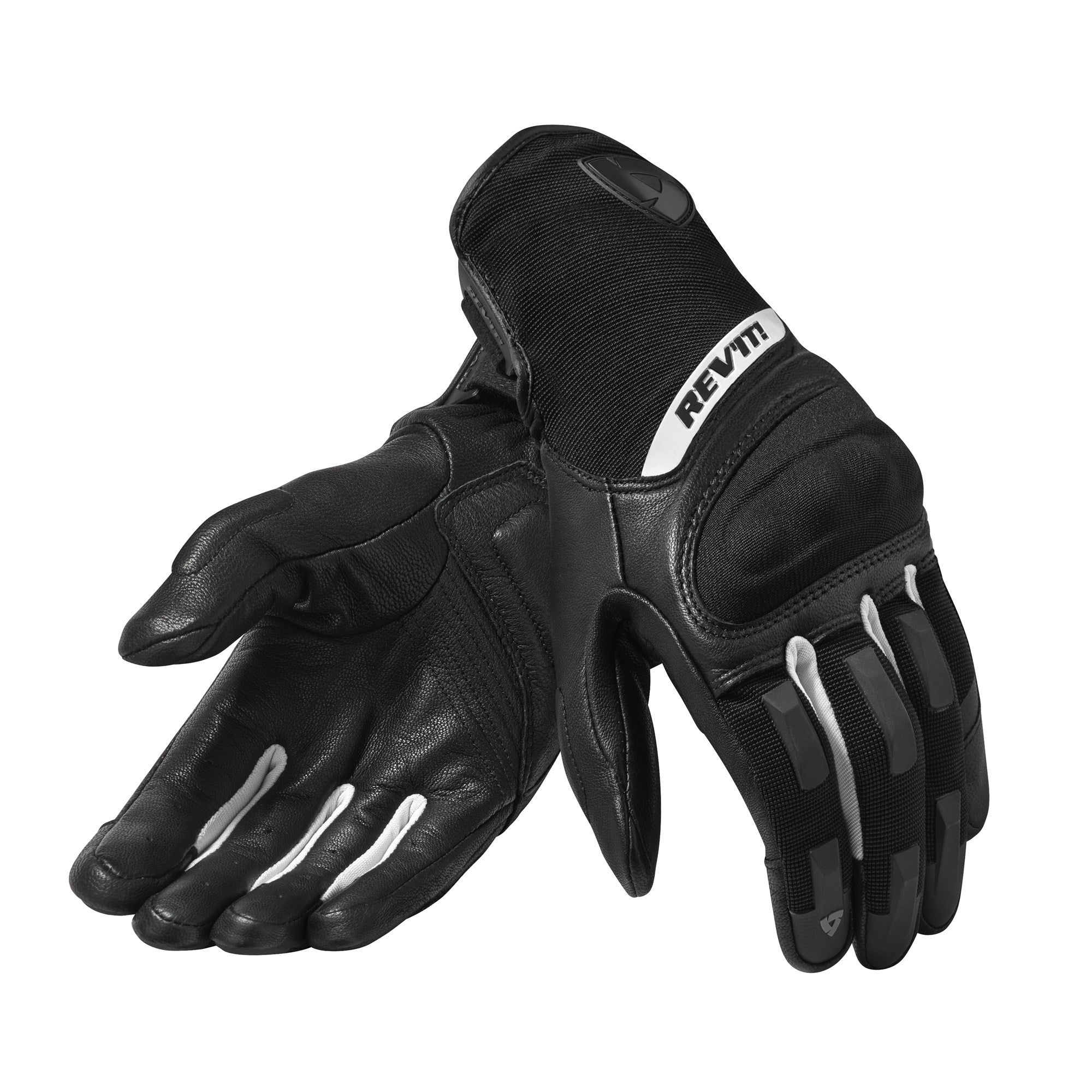 GUANTES REVIT STRIKER 3 BLACK WHITE