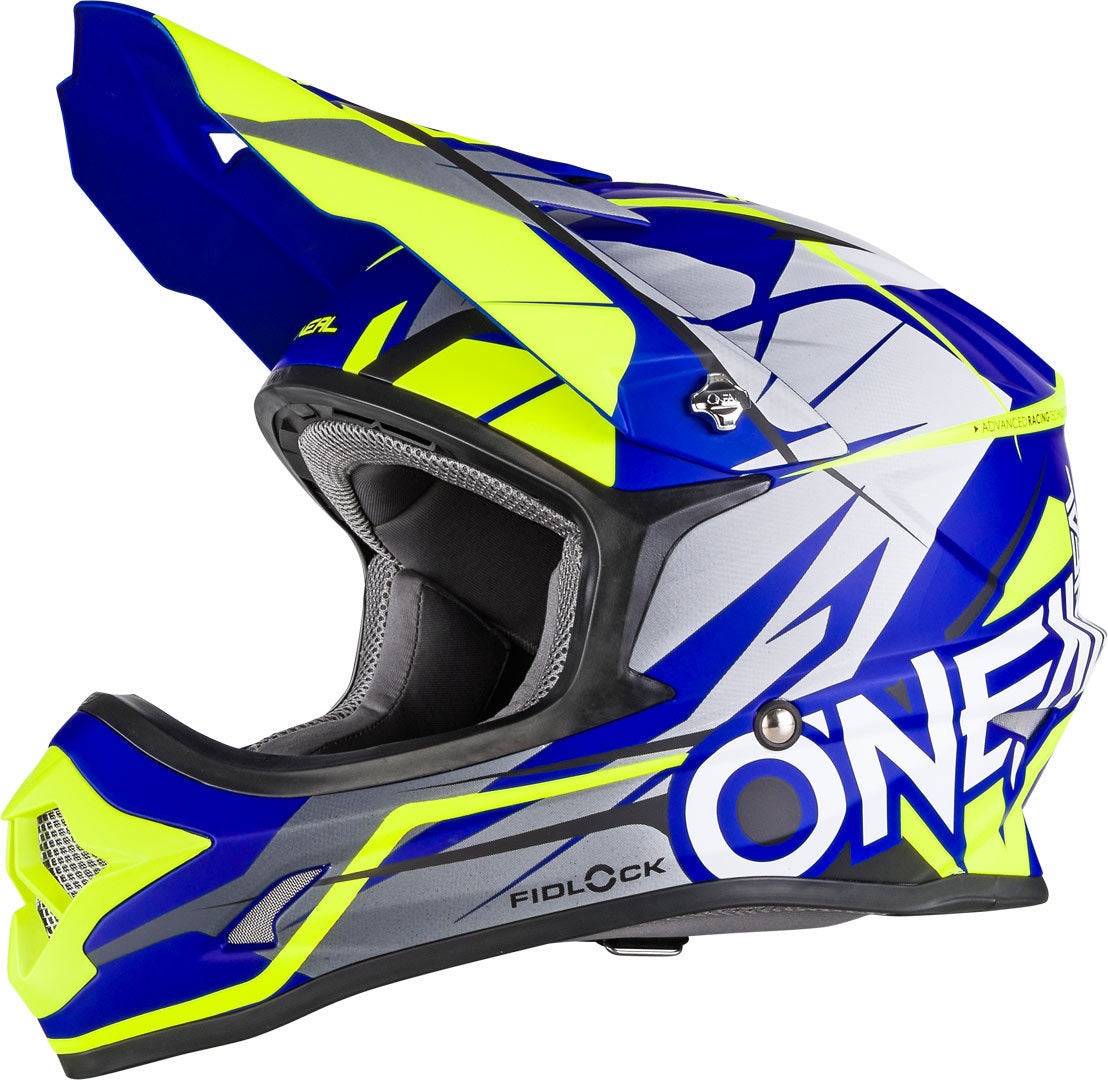 CASCO O'NEAL 3 SERIES FREERIDER FIDLOCK BLUE/YELLOW