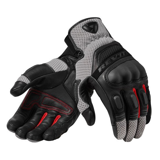 GUANTES REVIT DIRT 3 BLACK RED
