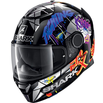 CASCO SHARK SPARTAN 1.2 LORENZO CATALUNYA BLACK