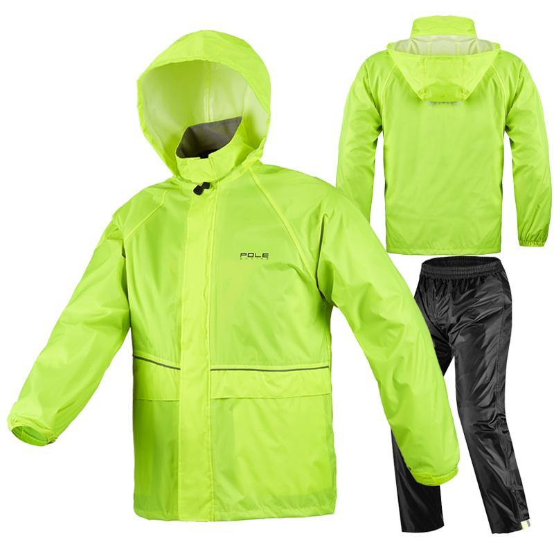 IMPERMEABLE POLE RACING NEGRO/HI VIZ