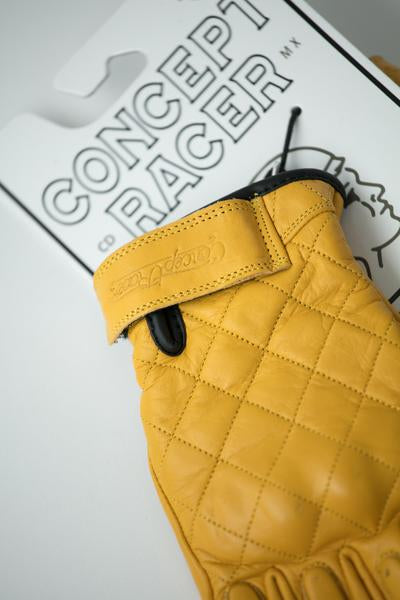 "GUANTES CONCEPT RACER ""KING OF COOL"" AMARILLO"