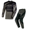 COMBO O'NEAL ELEMENT RACEWEAR BLACK/GRAY