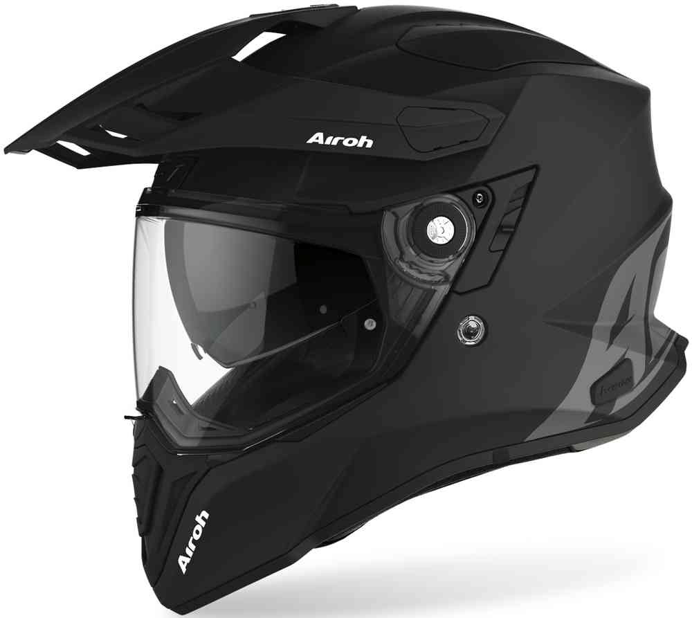 CASCO AIROH COMMANDER BLACK MAT