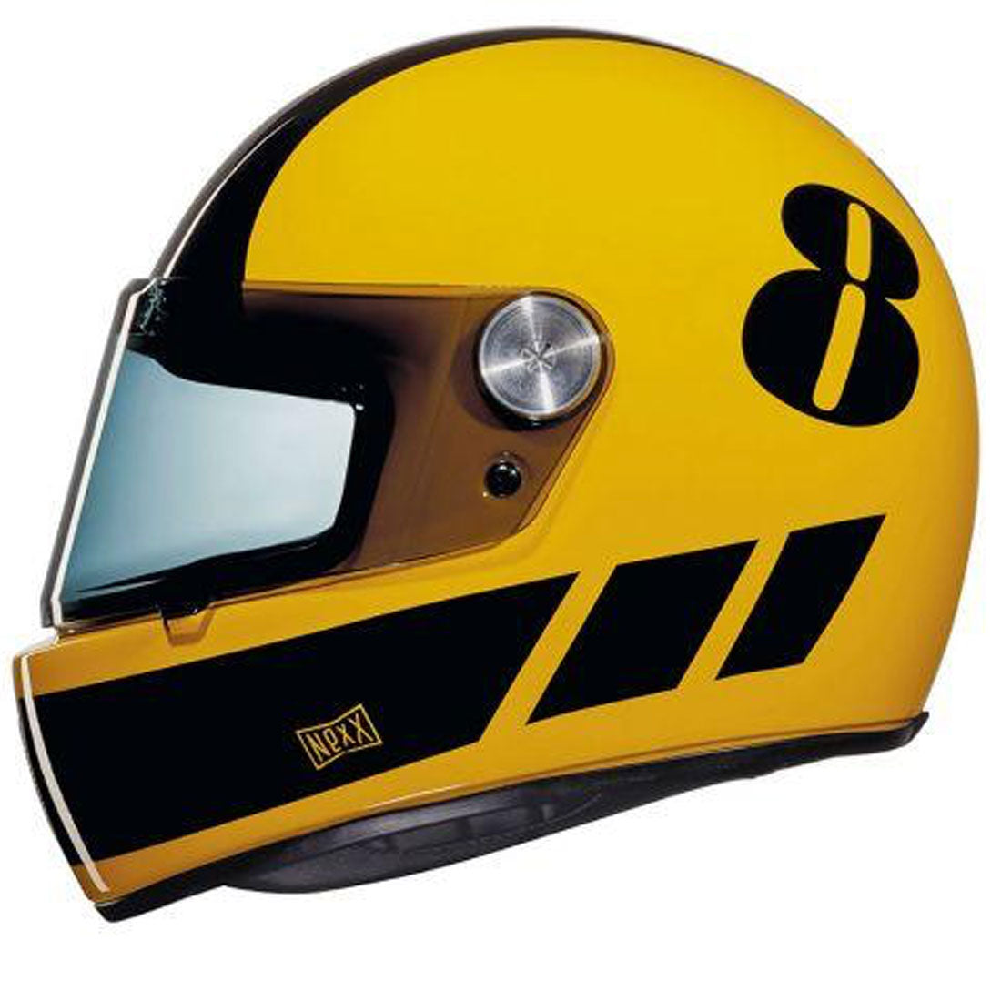 Casco NEXX X.G100 BILLY B YELLOW BLACK