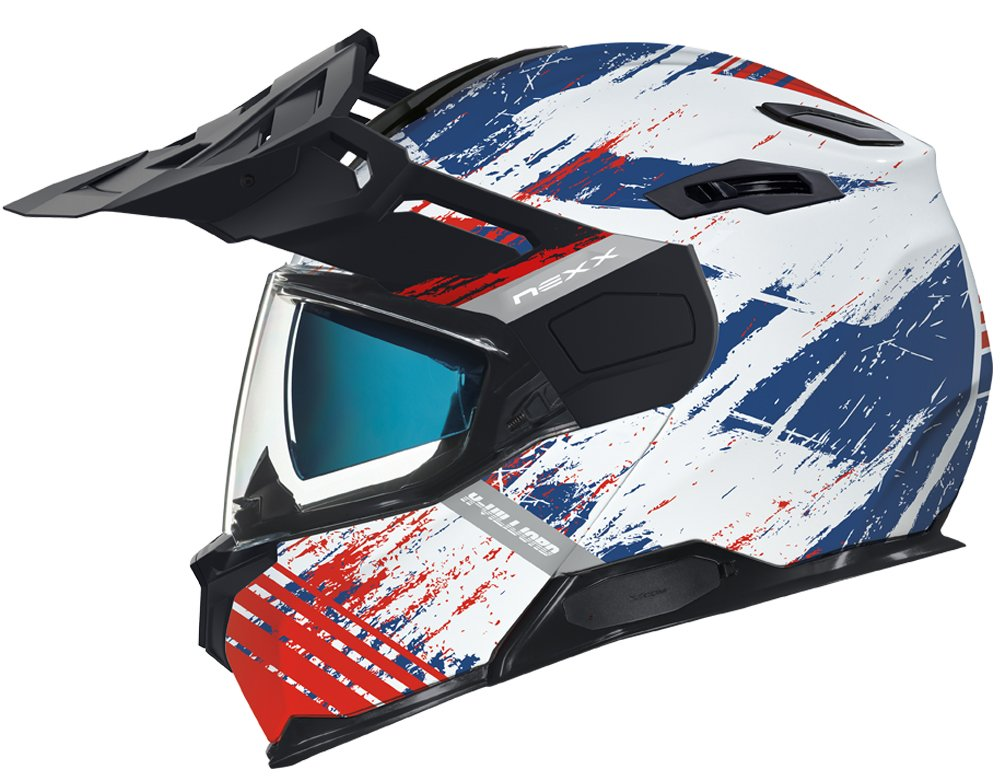 CASCO NEXX X.VILIJORD MUDVALLEY WHITE/BLUE/RED
