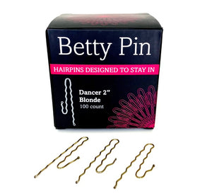 "Betty Pin 2"" Dancer Hairpins - 100 ct. Box"