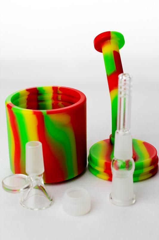 7 in. silicone bubbler - One wholesale Canada