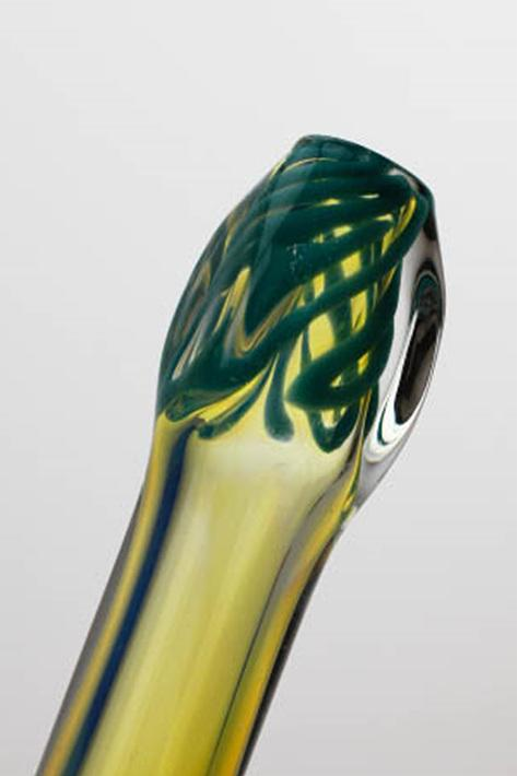 "5"" soft glass 5213 hand pipe - One wholesale Canada"