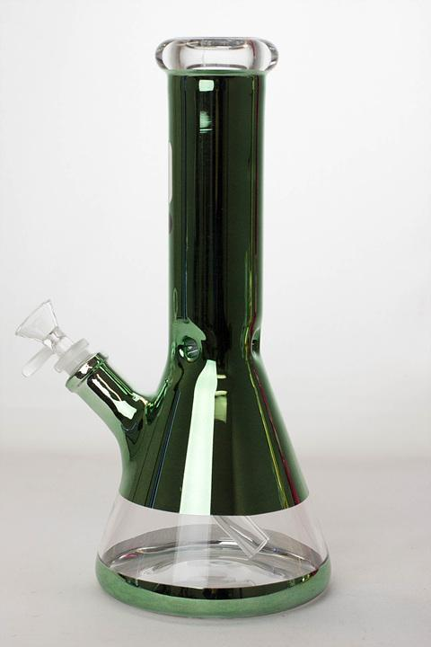 "12"" Infyniti 7 mm metallic classic beaker bong - One wholesale Canada"