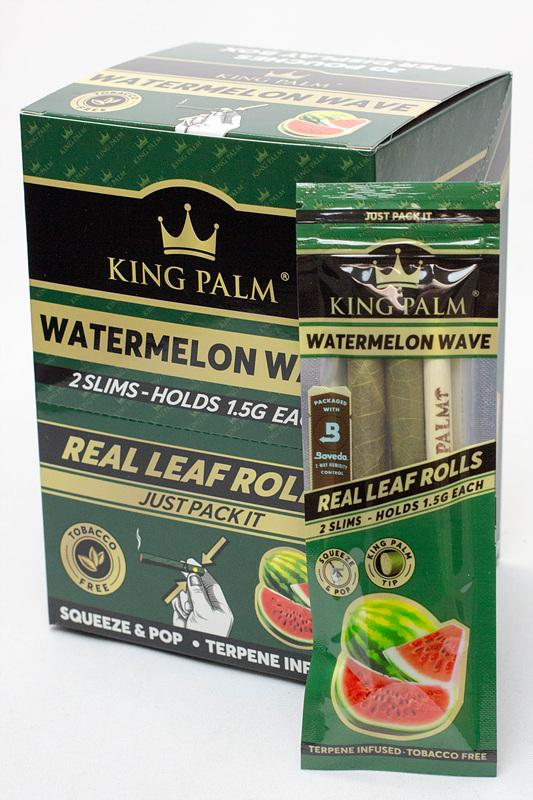 King Palm Hand-Rolled Flavoured Slim Leaves Box
